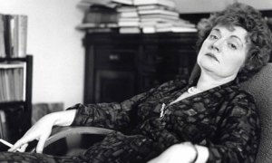 A Miss Muriel Spark in her prime.