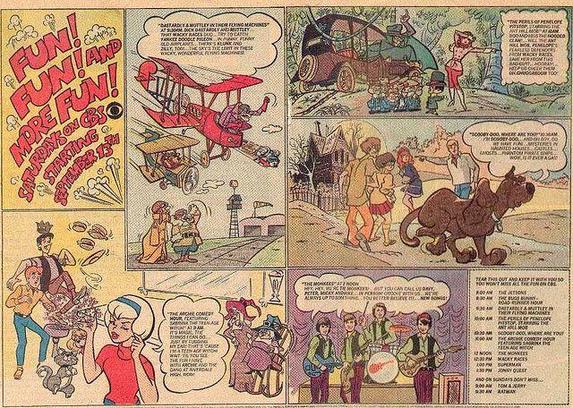 1969 comics insert
